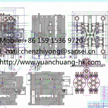 plastic parts made by plastic injection mold