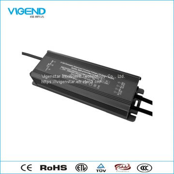 240W 0-10V dimming constant voltage 24V led driver