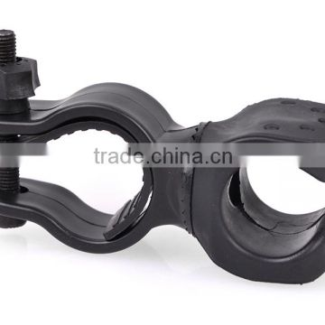 Bicycle Clip 24mm Ring Flashlight Mount for Bicycle bike