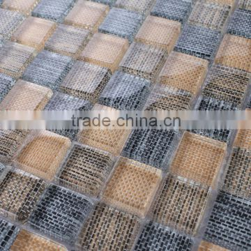 JY-G-44 wall tile pattern mosaic indoor glass mosaic setting wall decorate wallpaper