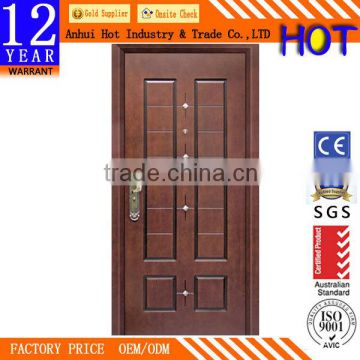 OEM Available Interior Security Door Steel Door China Cheap Price Steel  Metal Iron Door ...