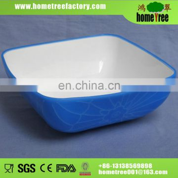 2014 new product elegant plastic plate for restaurant