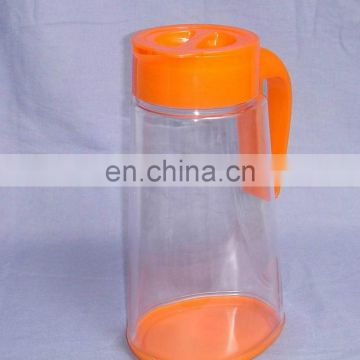 2015 new design good quality plastic juice jug 900ml