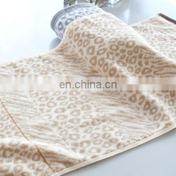 custom home luxury 100% cotton dazzle face towel