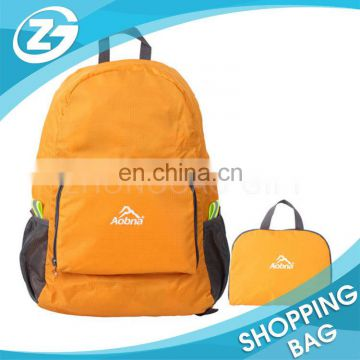 Nylon Polyester 210D 190T 420D sport leisure backpack