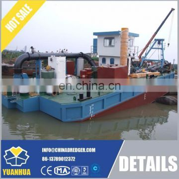 Dismountable hydraulic system cutter suction dredger
