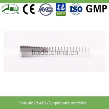3.0 3.5 4.0 5.0mm cannulated headless compression screwcannulated screw for surgery