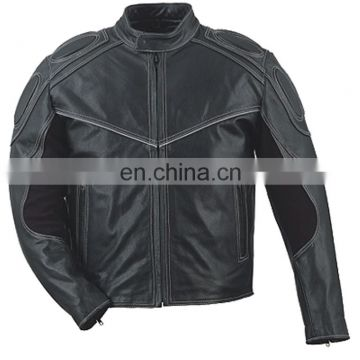HMB-0406A LEATHER COAT MOTORBIKE JACKETS MOTORCYCLE BIKER JACKET