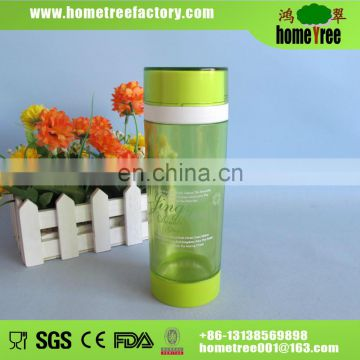 2014 good quality double wall glass cup 300ml