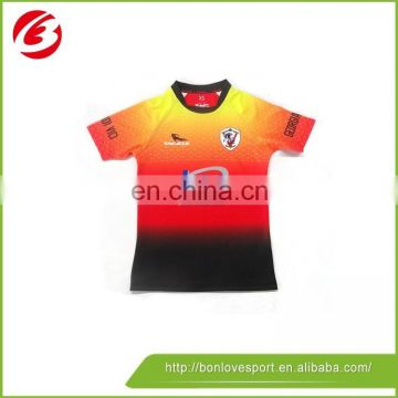 2016 hot sale Rugby jersey rugby uniform