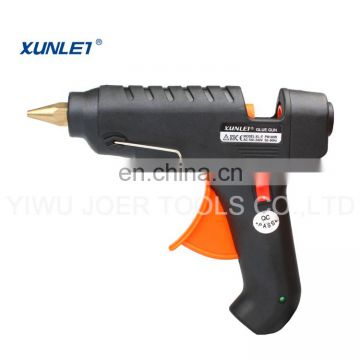 XL-F60 60w black typical hot melt glue stick adhesive gun