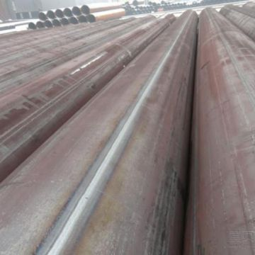 Large OD steel pipe with material X42-X80 used in oil and gas industry