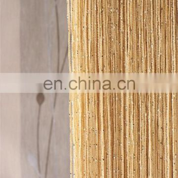 China factory glitter string door curtain with lurex cream