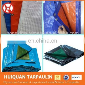 plain style 120gsm-180gsm waterproof uv protection pe tarpaulin for swimming pool
