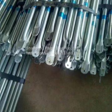 8 Ft Galvanized Pipe Rectangular Welded Carbon Steel