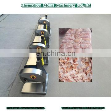 Commercial and Households Manual Chicken vertical meat portion cutter cutting machine for sale
