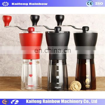 High Quality Best Price Manual Coffee Bean Crushing Machine Most popular hand coffee grinder machine bean grinding machine