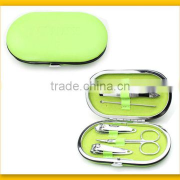 Beautiful green elliptic design manicure tool
