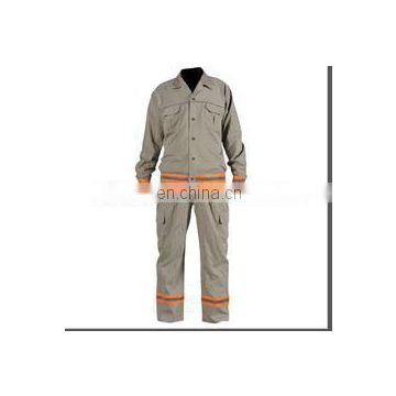 Hi-vis Reflective Coverall Meeting EN471 Standard with reflective strip