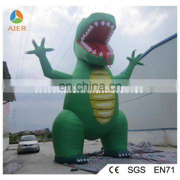 Latest advertising inflatable product Jurassic Dinosaur / inflatable product shape kids favourite animal