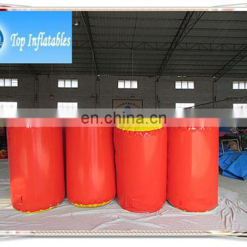 Inflatable paintball bunkers target inflatable paintball air bunkers