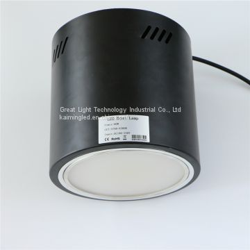 High CRI Philips Lumiled 90lm/W  4000K 90ra Surface mounted/Pendant LED Industrie Downlight 50W