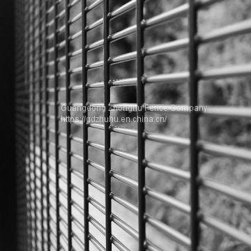 High security fencing 358 welded wire mesh fence for Zambia