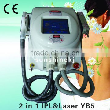 2013 new portable fast effect ipl laser hair removal machine for sale