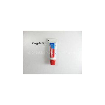 Eco - friendly hotel amenities, mini colgate hotel toothpaste with