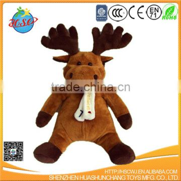 plush Christmas toy elk toy