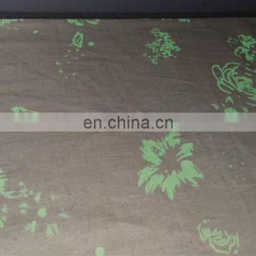55%Linen 45%cotton blend luminous fabric