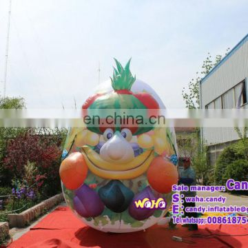 High quantity giant inflatable easter eggs for outdoor advertising / promotion C-297