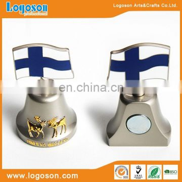 Finland best selling high quality antique brass bell