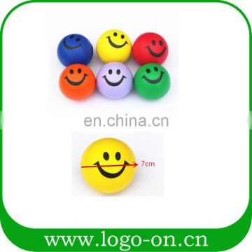 promotional PU Smiley face stress ball