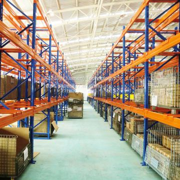 Special designed steel cable pipe storage racking system