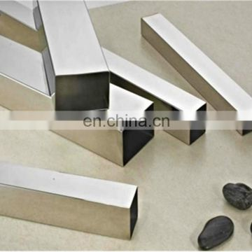 100*100mm welded stainless steel handrail square tube for decoration