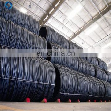 SAE1008 hot rolled low carbon steel wire rod in coils for drawing