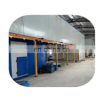 Advanced powder coating line for aluminum door and window