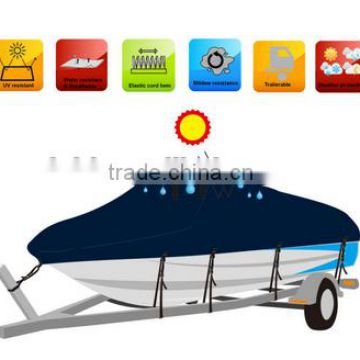 2015 Hot sell Easily cleaned outdoor use pontoon fishing boat cover