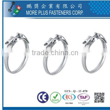 Taiwan Stainless Steel V Band Exhaust Schlauchklemmen Hose Clamp