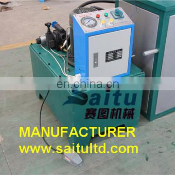 Two Wire Braided hydraulic hose swaging machine DSG-51G