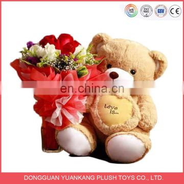 Hot Sale Lovely Stuffed Plush Teddy Bear Soft Toys