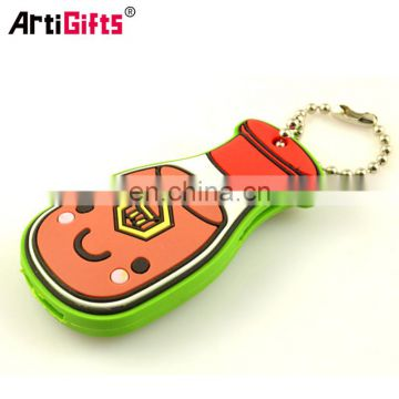 Newest style soft pvc custom key cover