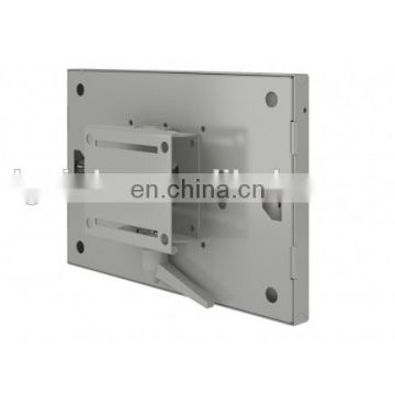 Hot selling metal steel polishing welded kiosk part shopping mall display LCD enclosure