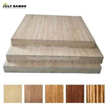Eco-friendly 3 ply 20 mm  caramel vertical bamboo sheet 4x8 bamboo panels for furniture