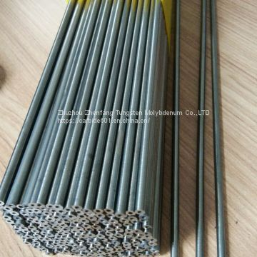 cemented carbide rod with central duct, tungsten carbide rod with straight coolant hole