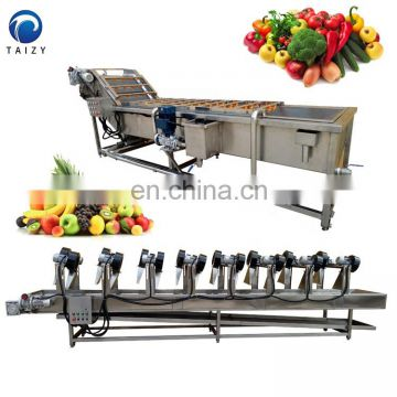 Washing equipment and air drying equipment for fruit