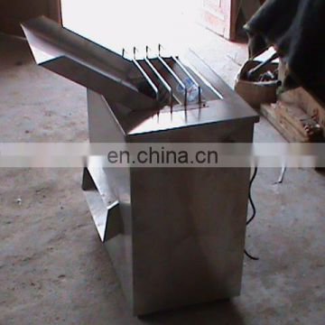 Stainless steel big capacity fish block making machine  with best service