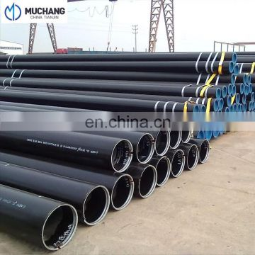 API Good Quality Fluid Carbon Black Seamless Steel Pipe And Tube