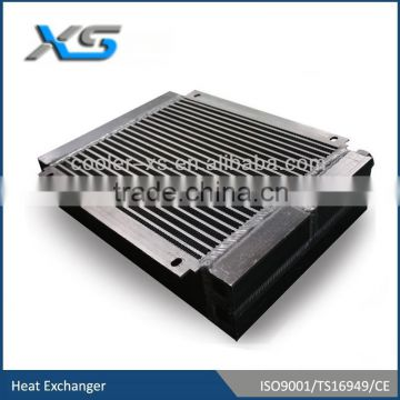 converter for wind power radiator,water cooled air cooler ,double passage with anodizing